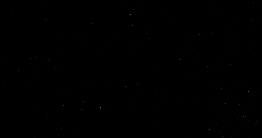 Flying dust particles on a black background | Shutterstock HD Video #1030967495