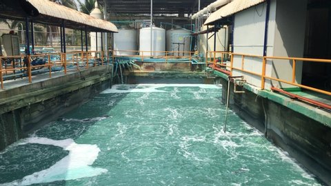 Water treatment recycle system technology in Factory
