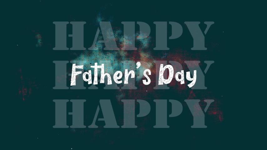 Happy Father's Day Motion Graphics Video | Shutterstock HD Video #1031042945