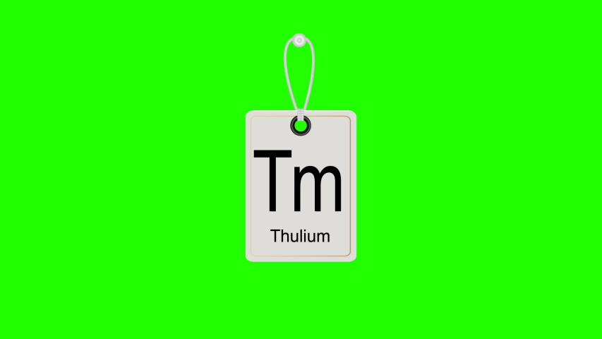 Element periodic chemical periodic table, swinging label. Chromakey. | Shutterstock HD Video #1031050205
