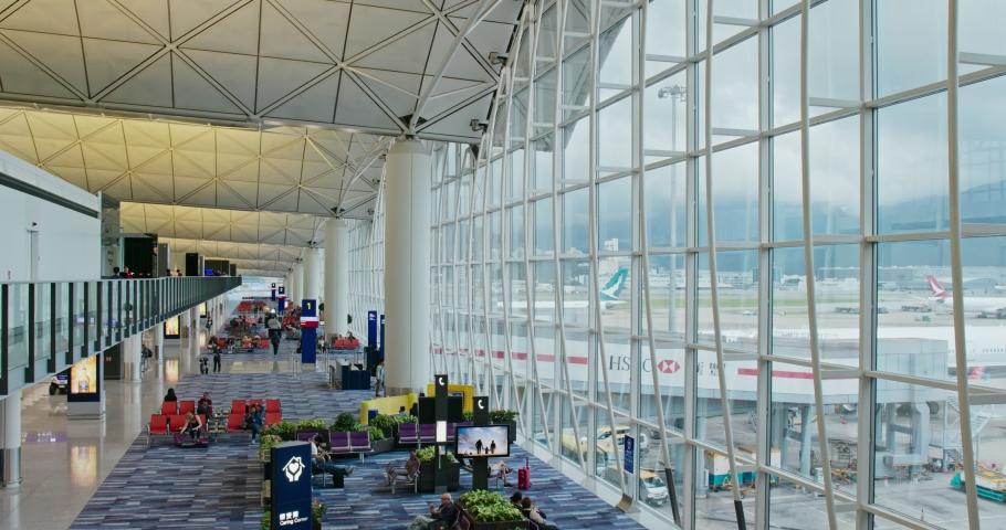 Chek lap Kok, Hong Kong 28 June 2019:  Hong Kong airport #1032991175