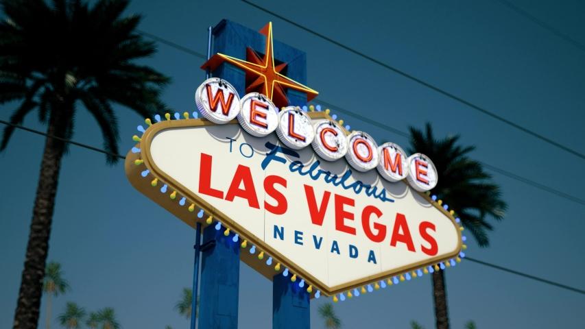 Las Vegas Sign, Crash Pan, Right To Left | Shutterstock HD Video #1033162145