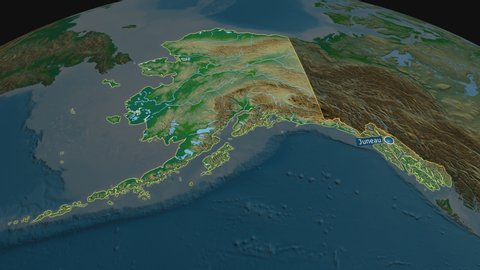 Alaska - state of united states with its capital zoomed on the physical on outline map of alaska, topographical map of alaska, rivers of alaska, us map alaska, climate map of alaska, map of southern alaska, the map of alaska, road map of alaska, atlas map of alaska, political map of alaska, denali alaska, large map alaska, satellite map of alaska, map of nome alaska, full map of alaska, detailed map alaska, printable maps alaska, physical maps of vietnam, world map of alaska, elevation map of alaska,