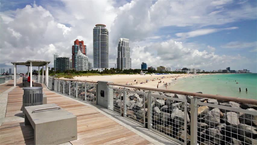 Stock Video Of High Definition Miami Beach 10335215 Shutterstock