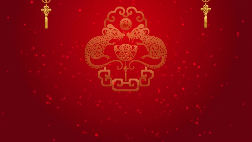 Happy Chinese New Year 2020 Stock Footage Video (100% ...