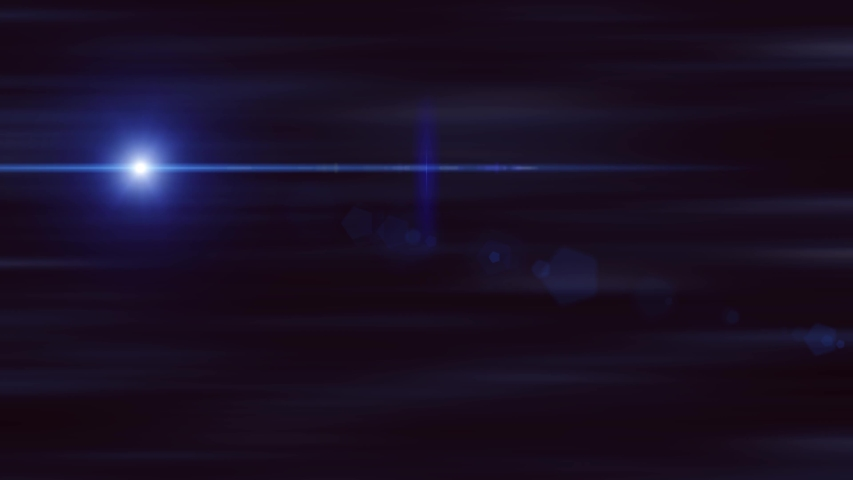 Blue bright light with lens flare. Magic star shine effect. Background with spotlight beam. | Shutterstock HD Video #1034300735