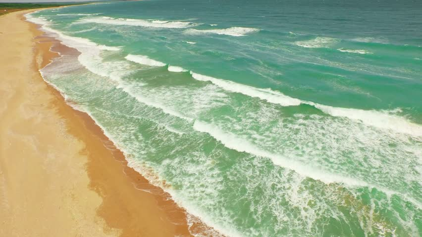Waves Crashing On the Beach Stock Footage Video (100% Royalty-free)  10344845 | Shutterstock
