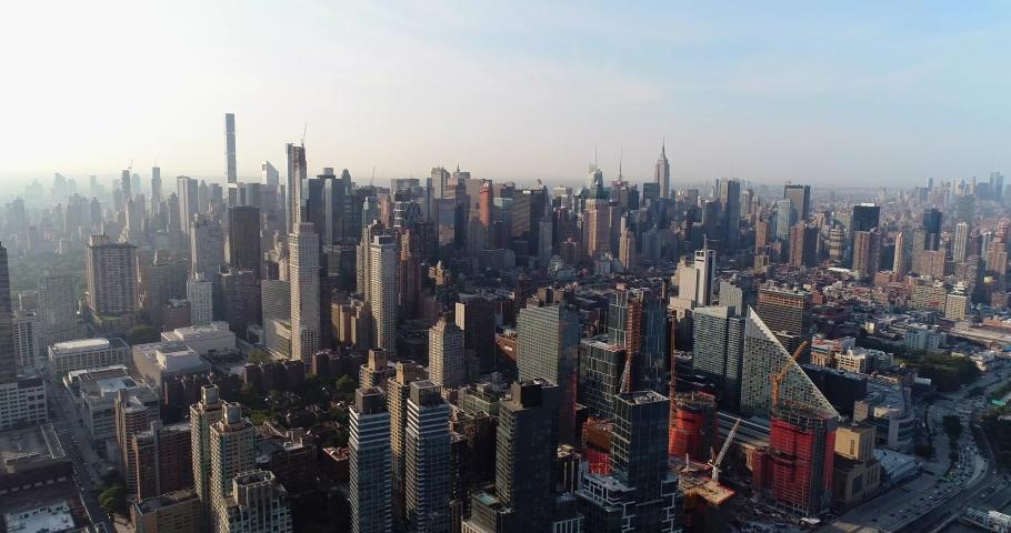New York City Aerial 4k | Shutterstock HD Video #1035554015