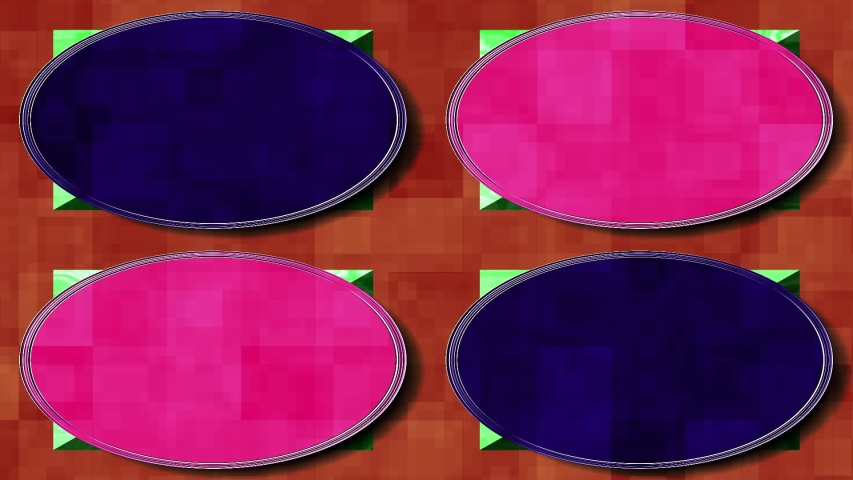 Background design blue white color pink modern colorful abstract texture shape pattern illustration element green style red isolated object circle decoration yellow round graphic cap | Shutterstock HD Video #1037043485