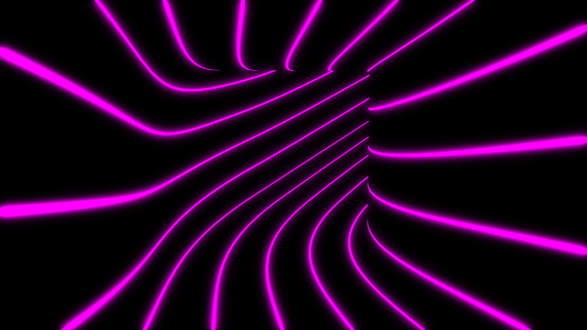 Moving Inside Tunnel. Abstract background, loop, created in 4K, 3d animation | Shutterstock HD Video #1037078435