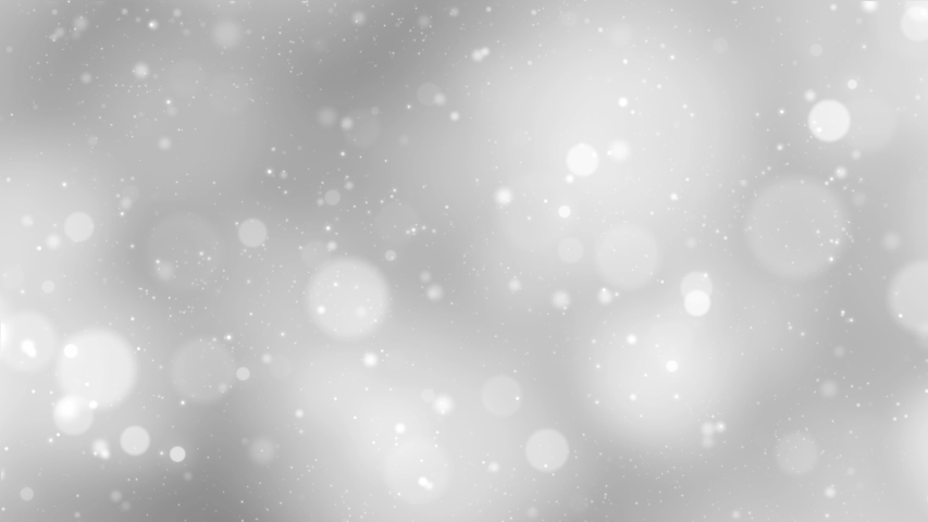 Abstract blurry silver colored circle bokeh copy space animation background. | Shutterstock HD Video #1037329025