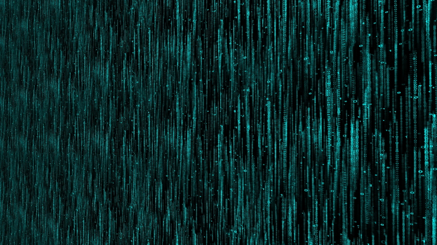 Machine code 0 and 1 matrix background, computer digital world wall zoom | Shutterstock HD Video #1037537465