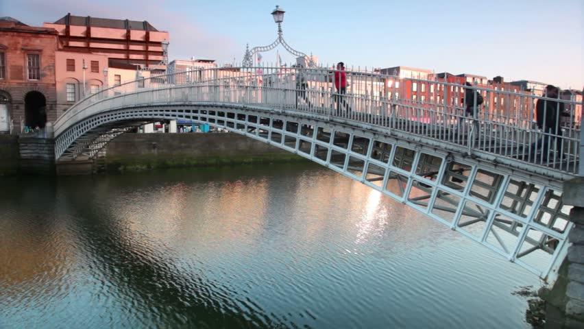 Liffey Bridge, Dublin, Ireland