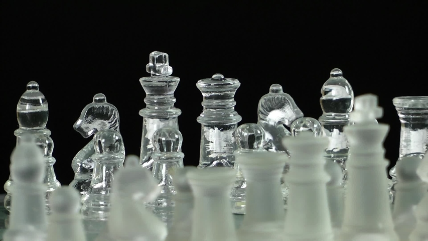 Video of chess game from glass | Shutterstock HD Video #1038745205