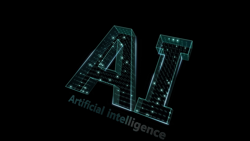 AI, artificial intelligence digital network technologies concepts Background. | Shutterstock HD Video #1038901685