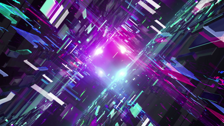 Abstract digital virtual city. Digital binary code of city. Software developer, programming, binary computer code with technology and connection concept. Scientific technology data binary code network | Shutterstock HD Video #1039020035