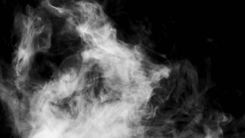 White smoke in a black background 4K resolution. On my profile you will find all types of smoke. | Shutterstock HD Video #1040144375
