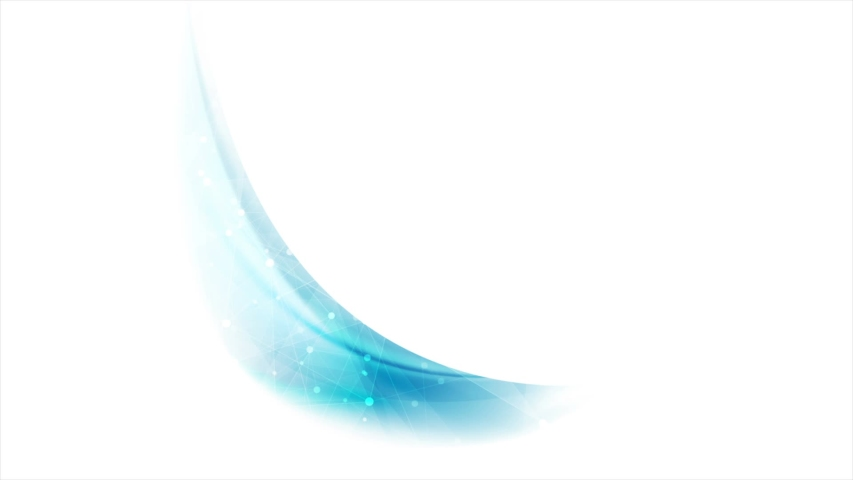 Blue waves and low poly tech motion design video animation ultra hd | Shutterstock HD Video #1040485565