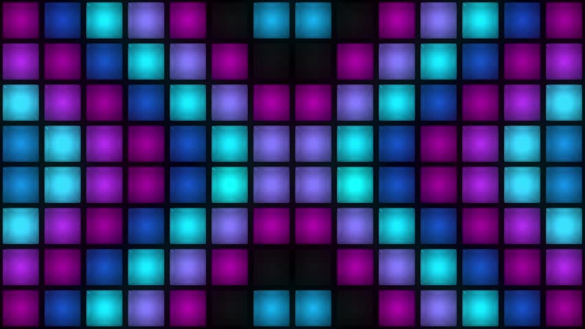 VJ Colorful Box Lights Flashing
