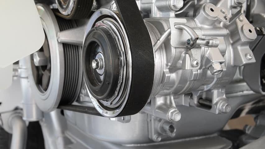 Car engine closeup, Part of car engine #10444145