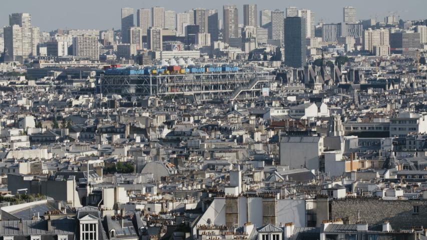 Stunning Paris cityscape by day. Still Shot | Shutterstock HD Video #1044714055