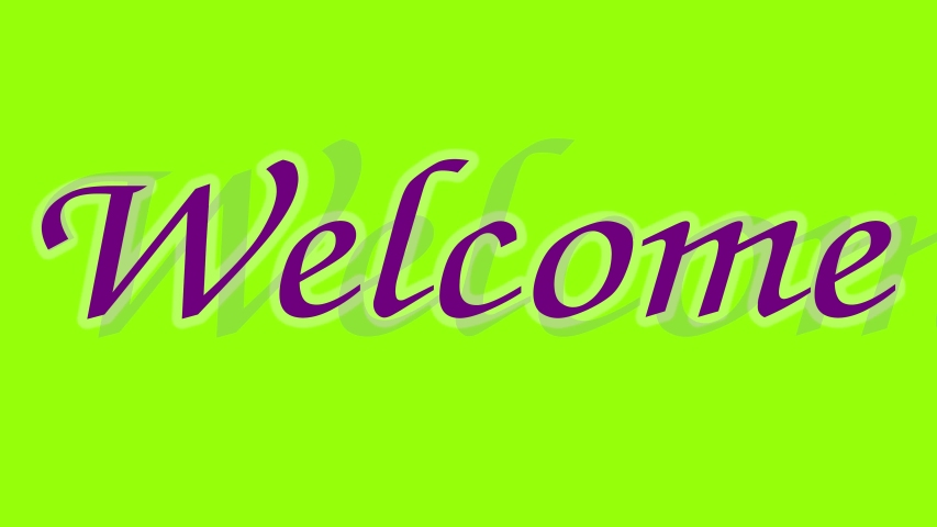 Welcome text chroma key animation   Shutterstock HD Video #1044855685