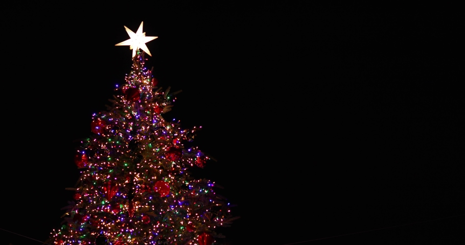 Footage of Christmas illuminations downtown Tokyo | Shutterstock HD Video #1045143895