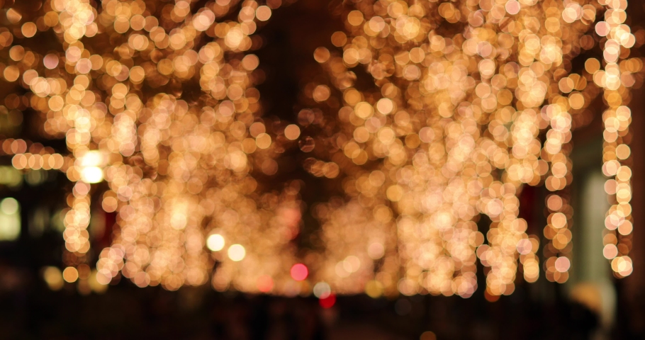 Footage of Christmas illuminations downtown Tokyo | Shutterstock HD Video #1045143925