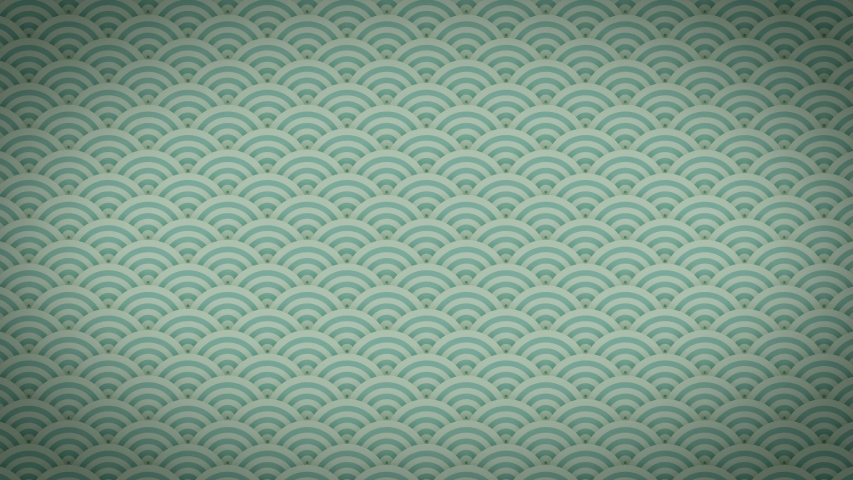 Abstract Japanese Patterns Ornaments Background Clip/ 4k animation of an abstract decorative background with japanese arts deco fishscale patterns seamless looping | Shutterstock HD Video #1045757575
