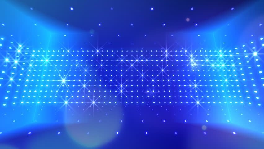 New Disco Motion Background With Spotlight Flare Effect