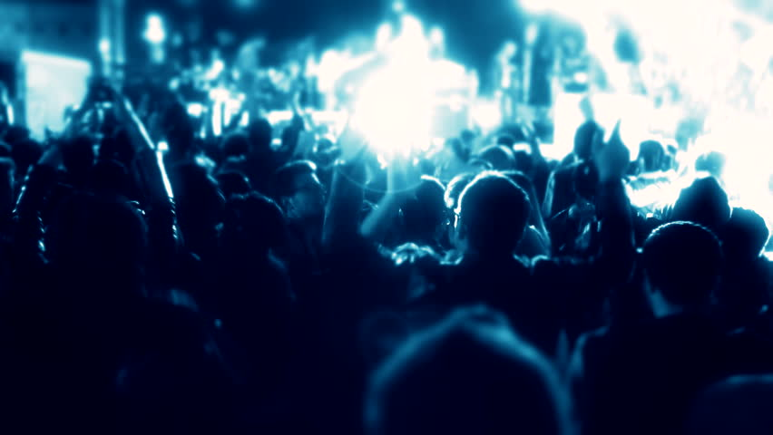 Concert people  | Shutterstock HD Video #10574885