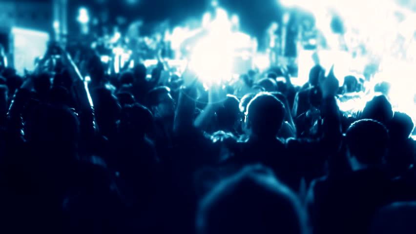 Concert people  | Shutterstock HD Video #10574885