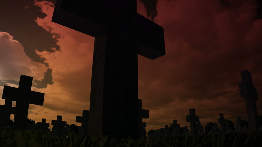 Header of graveyard