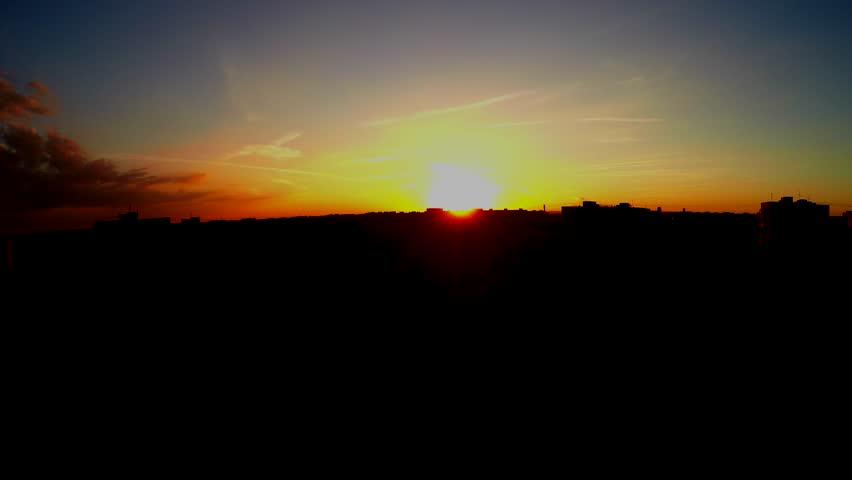 Sun goes down | Shutterstock HD Video #10598795