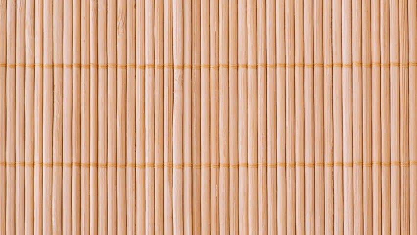 Beau Stock Video Of Texture Of Bamboo Brown Tablecloth Close | 10655255 |  Shutterstock