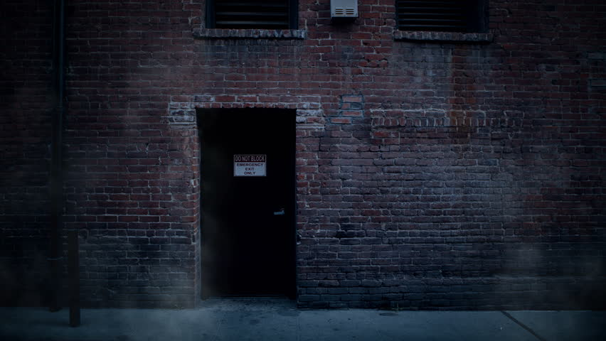 Back alley stock footage video shutterstock for Back door entrance