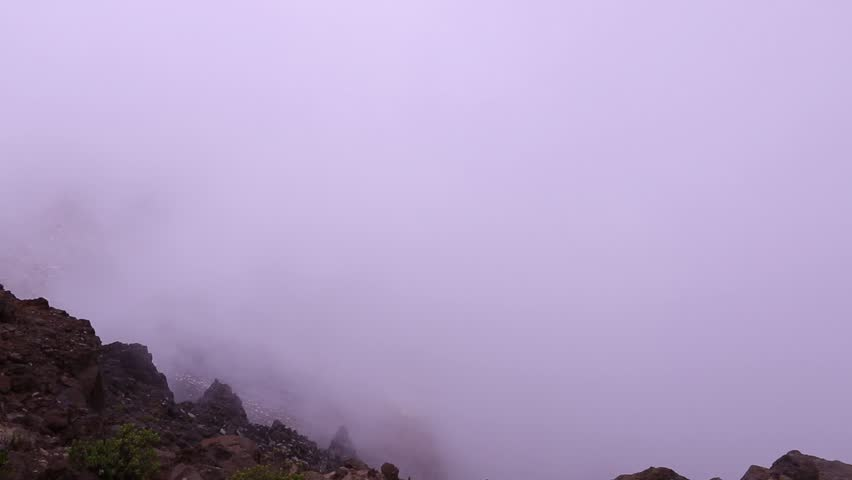Timelapse fog on haleakala volcano maui hi stock footage video fog on haleakala volcano maui hi hd stock video clip publicscrutiny Image collections