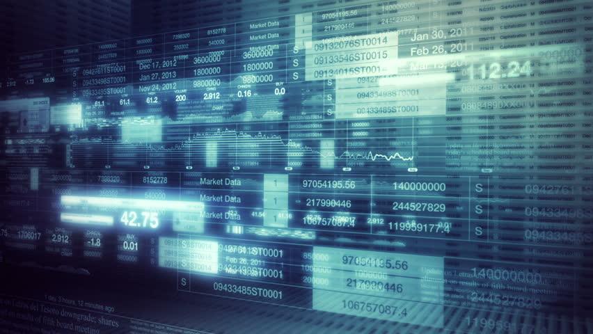 Stock Market Tickers Smooth Camera Pan   Shutterstock HD Video #1072885