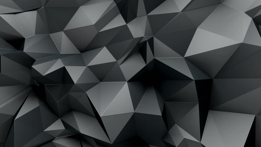 3D Abstract Black Dark