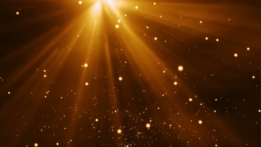 4k Gold Particles Light Stream Animation Background Seamless Loop. | Shutterstock HD Video #10829264