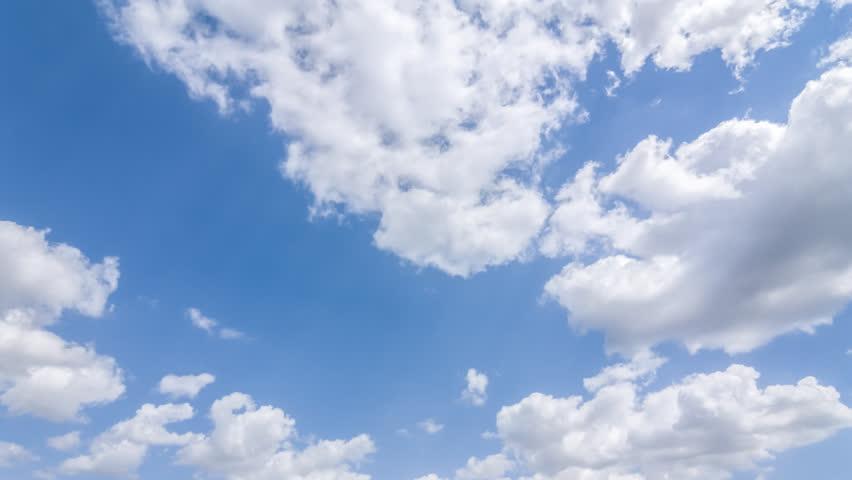 cloudy sky time lapse scene #10840745