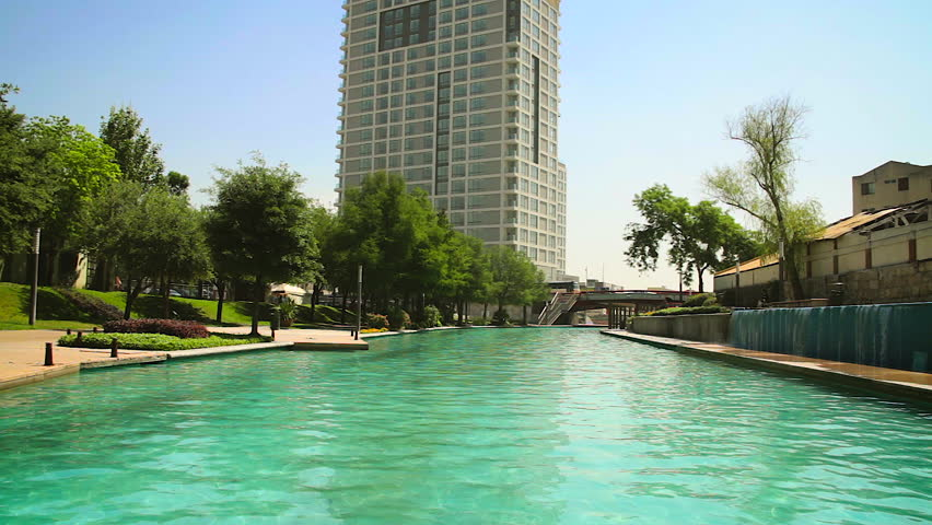 mexico circa 2015 santa luci_a riverwalk monterrey hd - Multi Hotel 2015