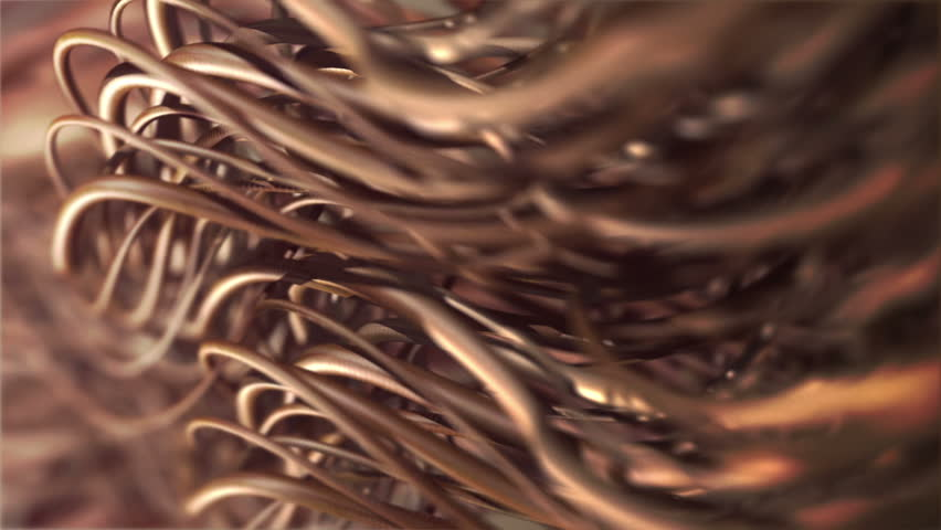 hair close-up, shallow depth of field