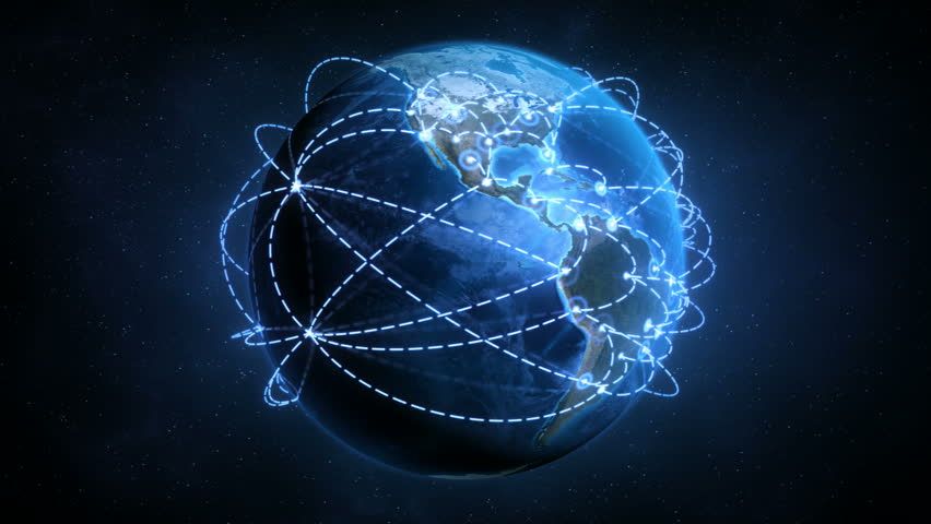 Growing Global Network - Accelerated Growth Version - Preview is darker than actual - Check portfolio for variations. | Shutterstock HD Video #1095415