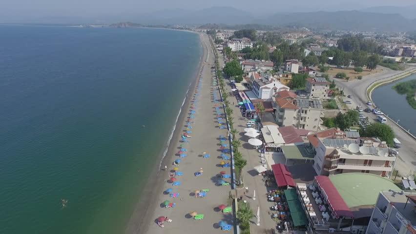 Calis Beach Turkey Fethiye  | Shutterstock HD Video #11024360