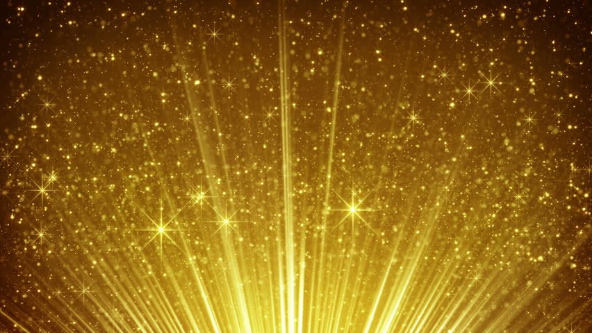 stock video of rising gold particles in light rays 11134775 shutterstock