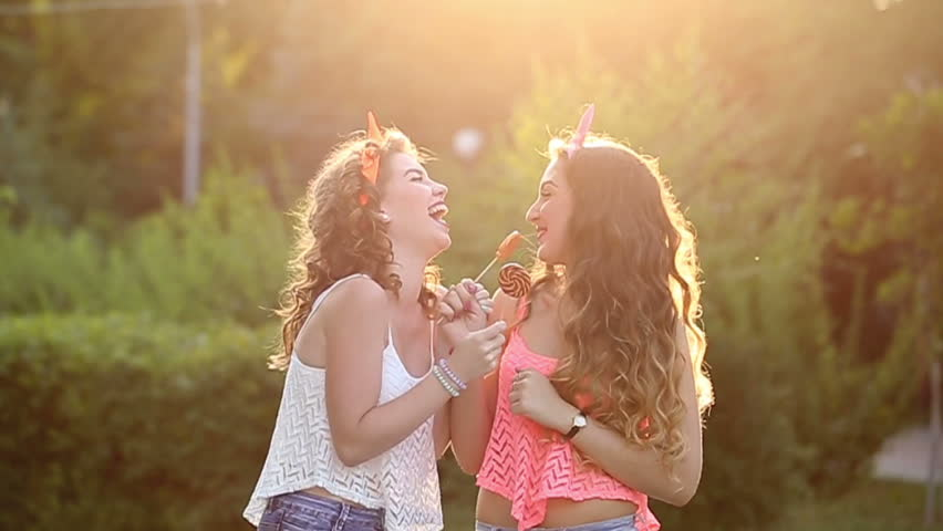 Cheerful Friends Walking In A Stock Footage Video 60% Royaltyfree Inspiration Best Friendship Hd Pics