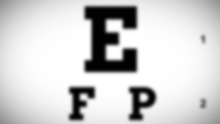 Eye Chart Test #11275745