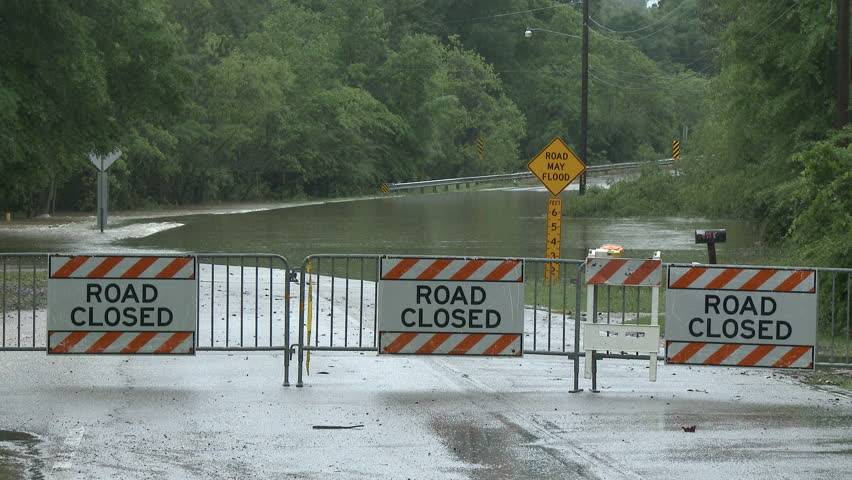 Flooded Highway  Yes, the Road Stock Footage Video (100% Royalty-free)  11297885 | Shutterstock
