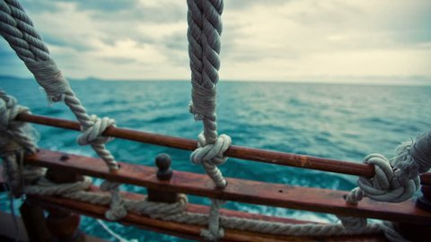 View From the Pirate Ship at Sea